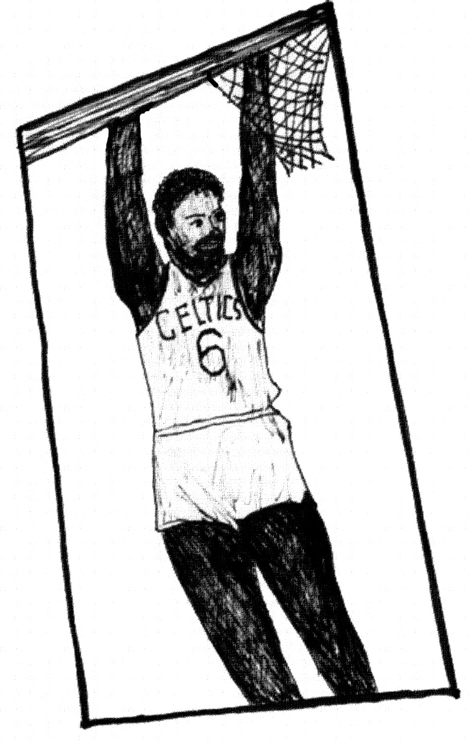 Bill russell coloring pages ~ Art